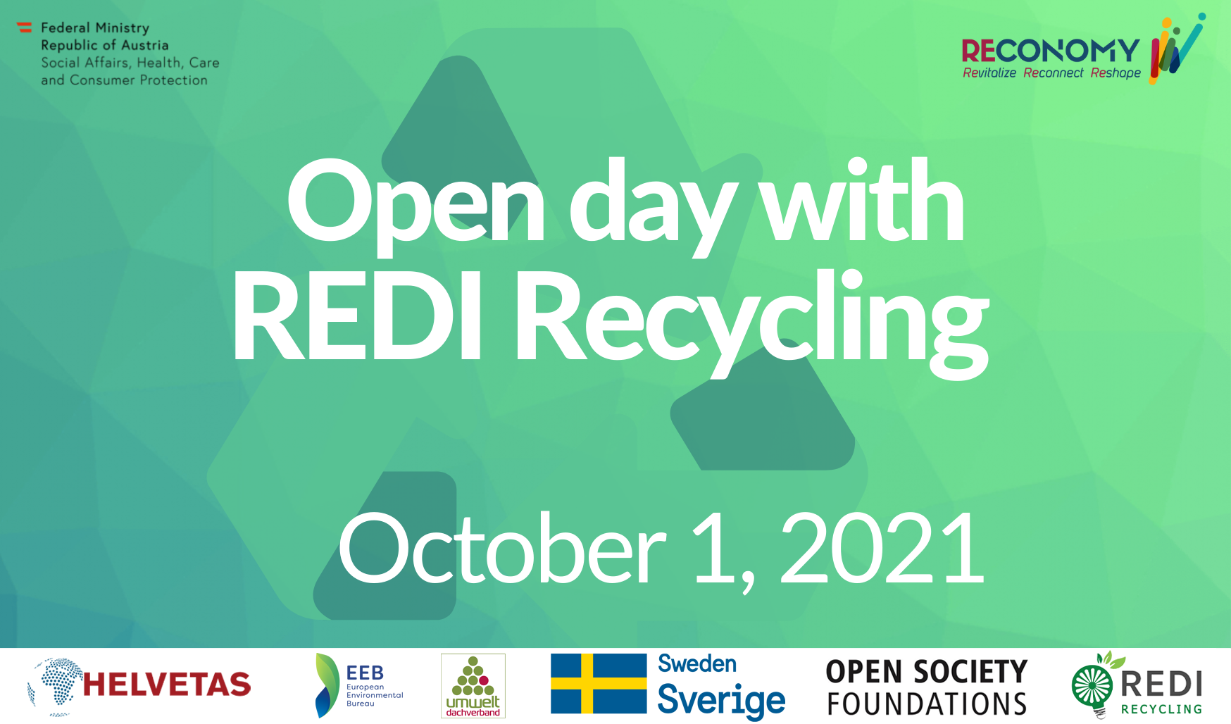 Open Day with REDI Recycling